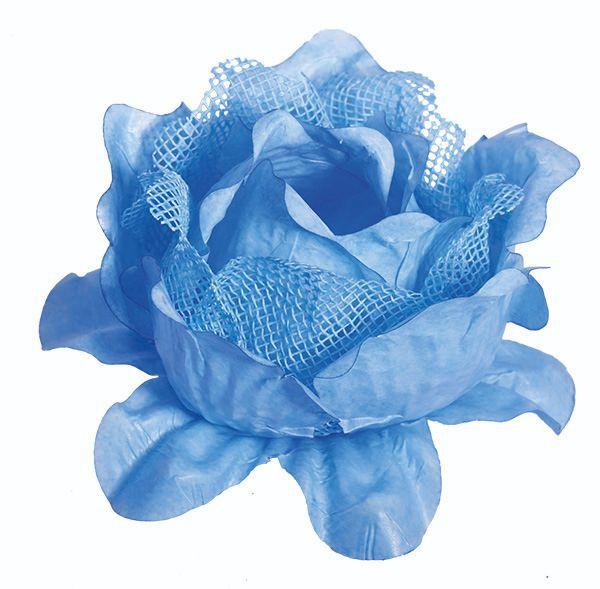 Forminha Primavera Tela / Papel Azul Bebê