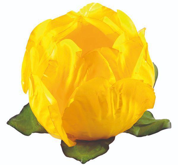 Forminha Princesa Amarelo Vivo