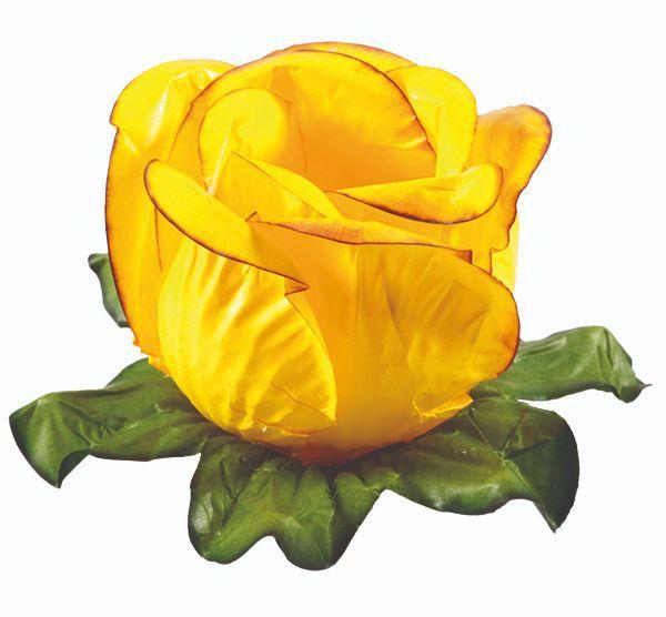 Forminha Rainha Amarelo Queimado