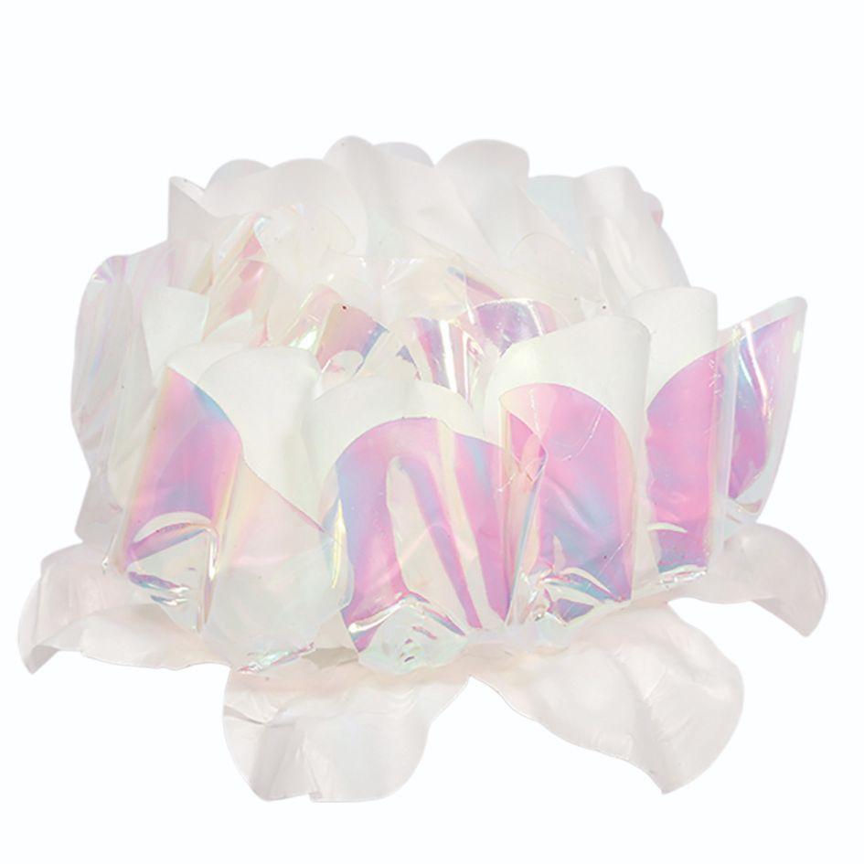 Forminha Rosa Maior Nacarada Branco