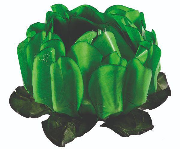 Forminha Rosa Maior Verde Limão Escuro