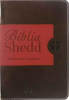 Bíblia Shedd - café e vermelho