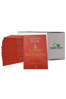 Kit O natal escondido - Timothy Keller - Caixa com 30 unidades
