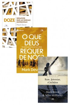 Kit - Mark Dever - 3 livros