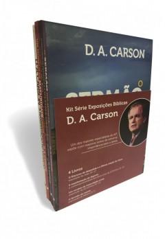Kit Série Exposições Bíblicas D. A. Carson