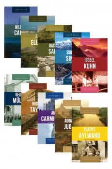 Kit Série heróis cristãos ontem & hoje - 10 vols.