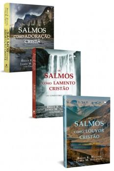 Kit Trilogia de comentários de Salmos