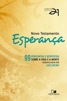 Novo Testamento Esperança A21 - capa laranja