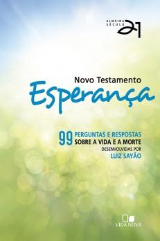 Novo Testamento Esperança A21 - capa verde