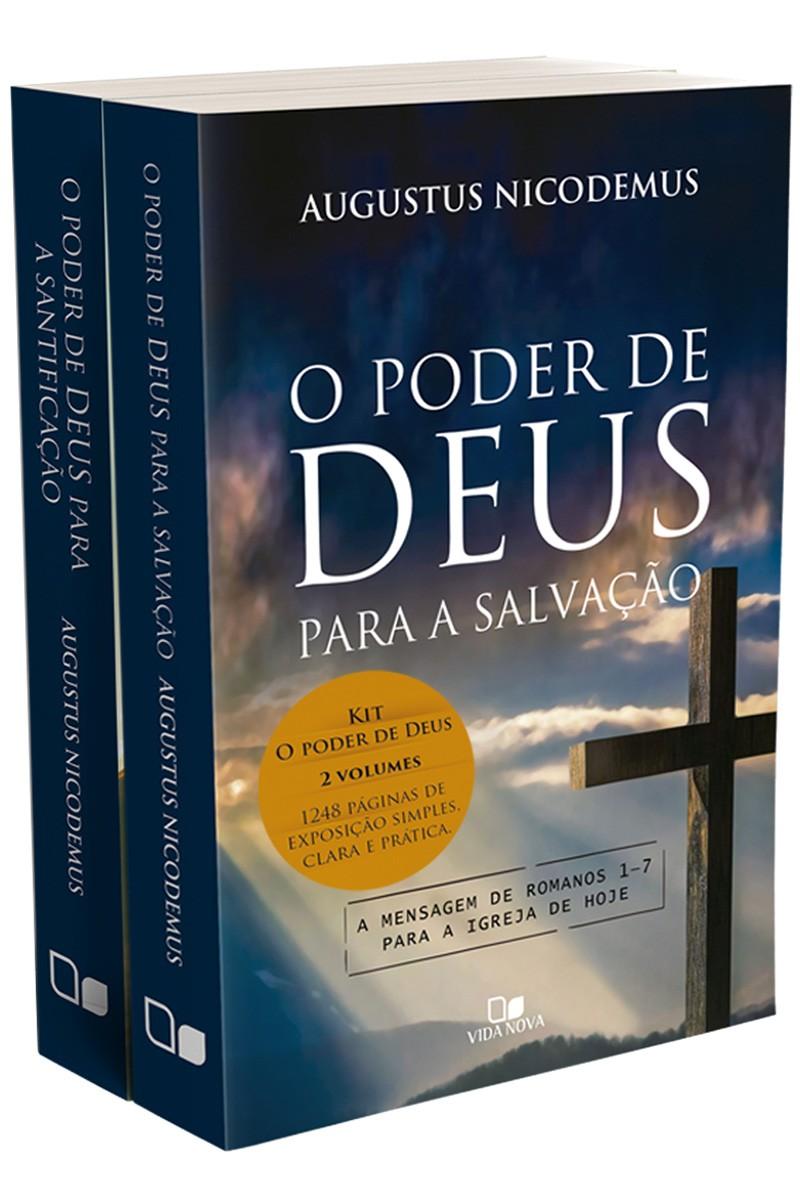 Kit O poder de Deus: a mensagem de Romanos para a igreja de hoje - 2 vols.