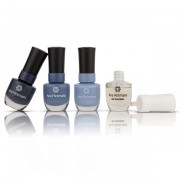 Ana Hickmann Kit Chegue de Azul 3 Esmaltes + Base Fortalecedora BRINDE