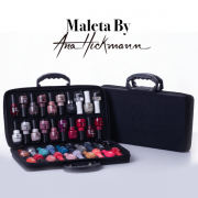 Ana Hickmann Maleta By Ana Hickmann + Kit 40 Esmaltes