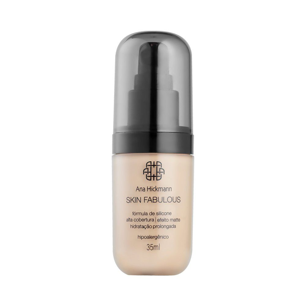 Ana Hickmann Base Skin Fabulous 35ml Médio Nº01