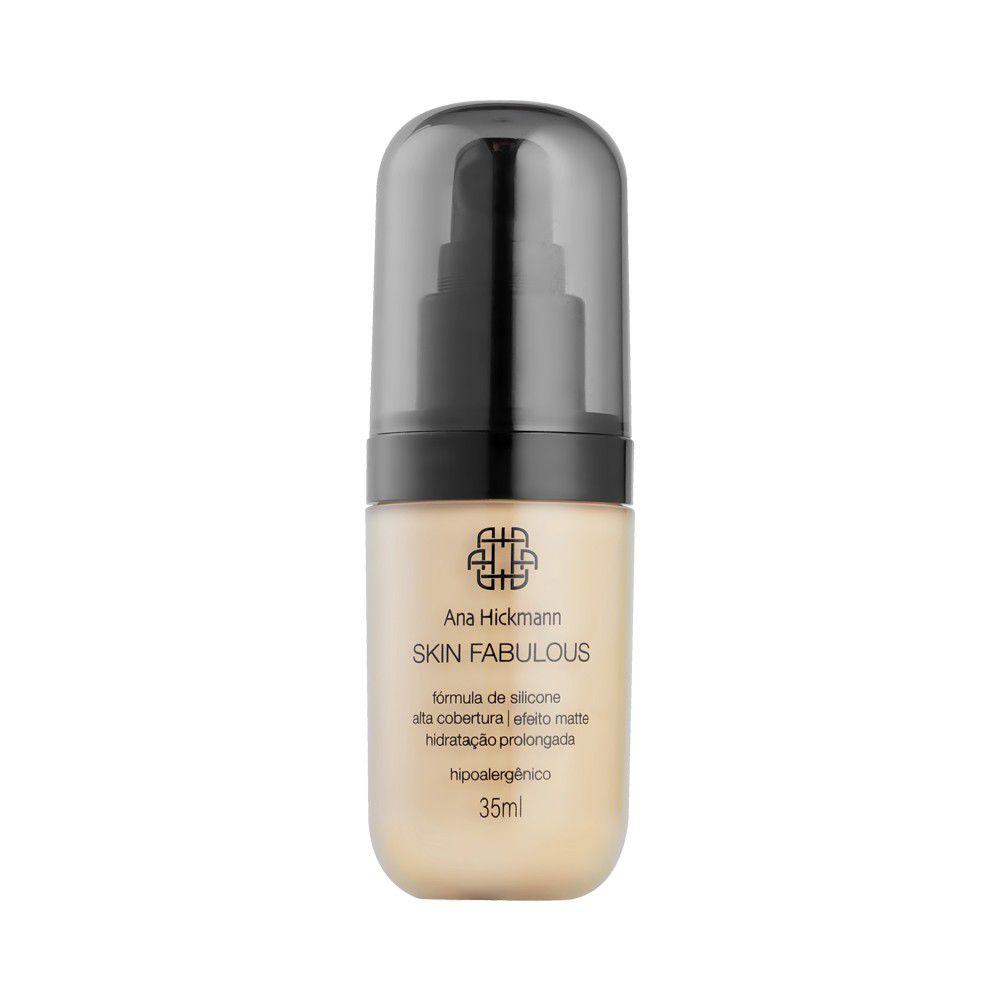 Ana Hickmann Base Skin Fabulous 35ml Médio Nº03