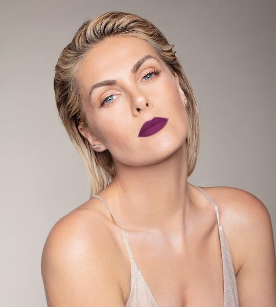 Ana Hickmann Batom Líquido 12Hs Sou Fashion Nº04