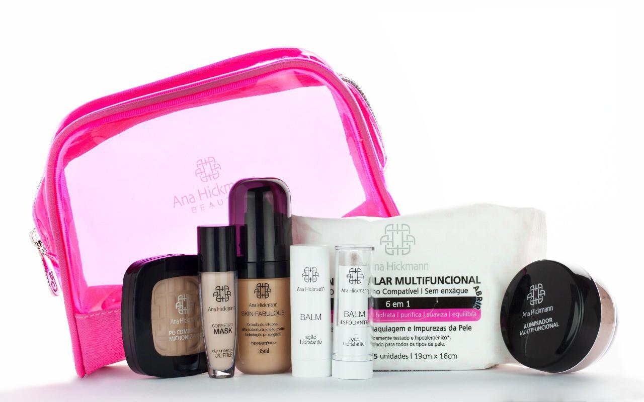 Ana Hickmann Beauty Kit Beauty + Necessaire de BRINDE