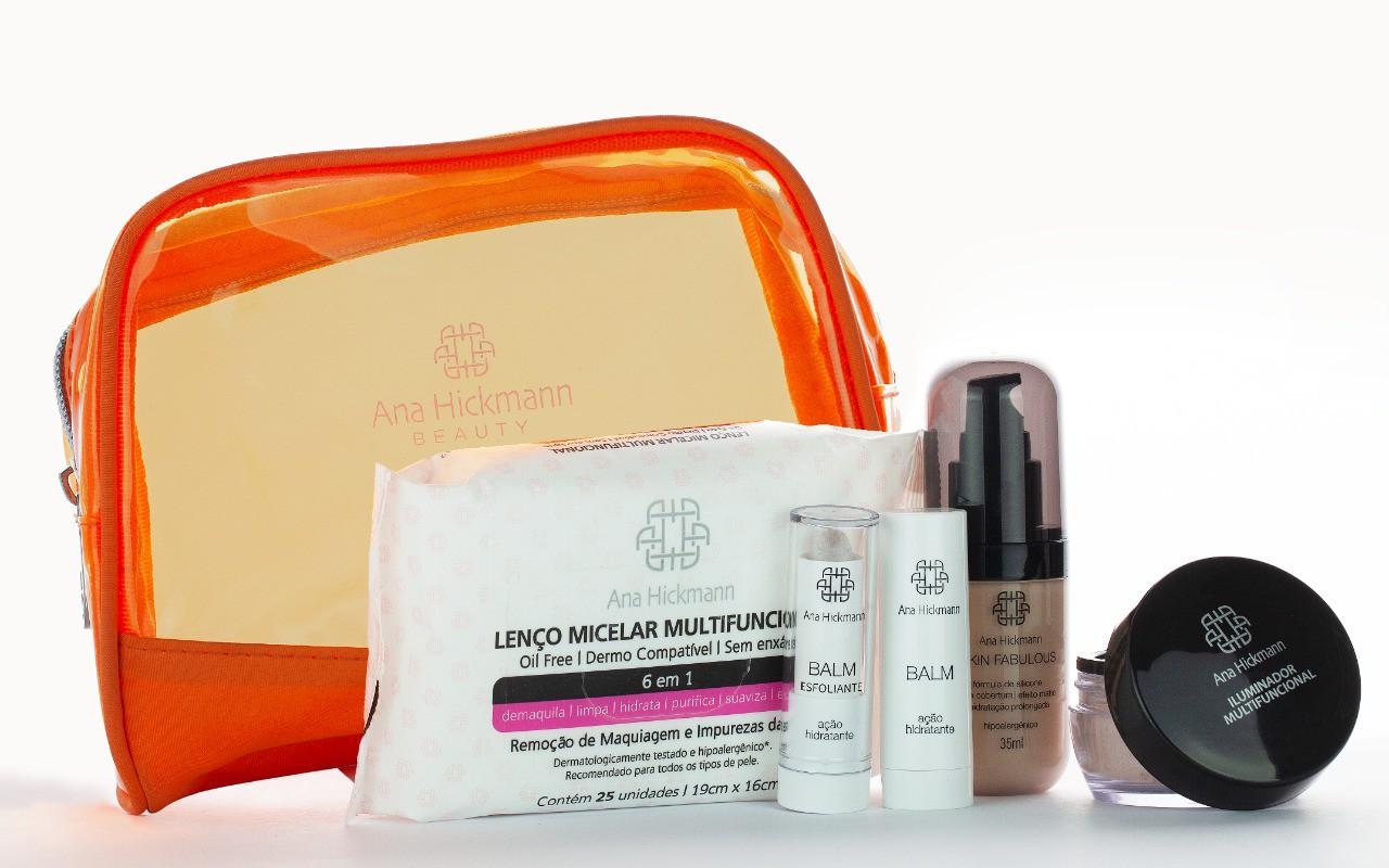 Ana Hickmann Beauty Kit Essentials + Necessaire de BRINDE
