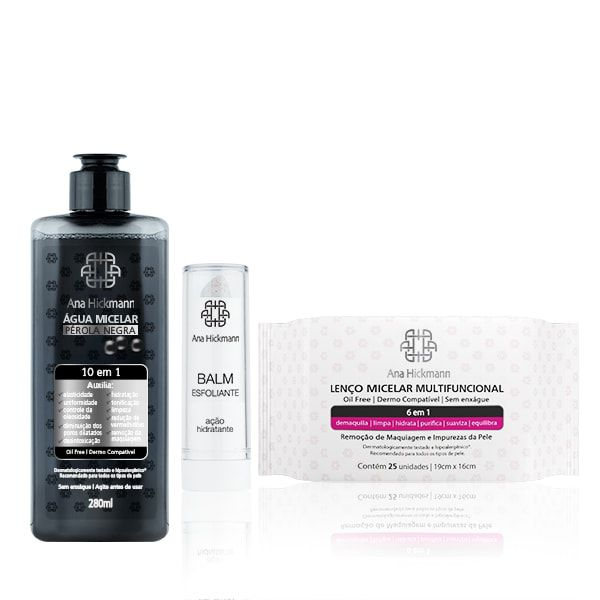 Ana Hickmann Kit Skin Care 10 em 1
