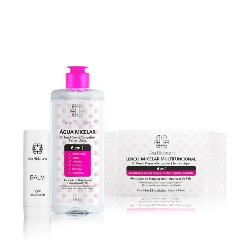 Ana Hickmann Kit Skin Care 6 em 1