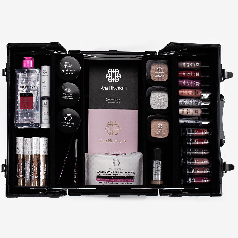 Ana Hickmann Makeup Maleta de Maquiagem Profissional by Ana Hickmann