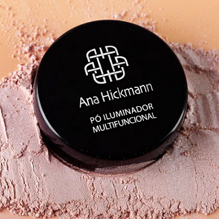 Ana Hickmann Pó Solto Iluminador Multifuncional Multi Glow Nº1