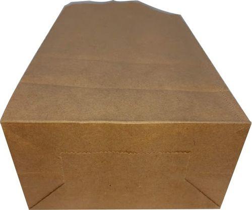 100 Sacos Kraft Delivery Médio Fast Food Entregas 24x30x14