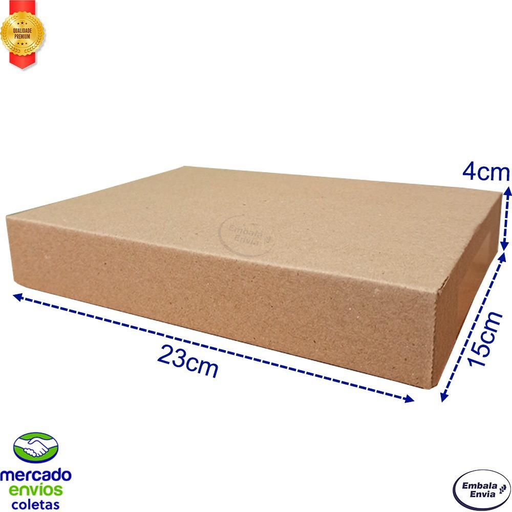 150 Caixas De Papelao 23x15x4 Correio Pac Mini E-commerce