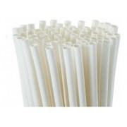 1000 Canudos De Papel Biodegradavel Embalados Individualmente