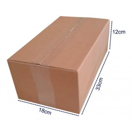 100 Caixas De Papelão Pequenas Sedex Pac Envios 33x18x12