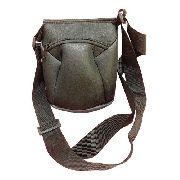 Mini Bolsa Lateral Shoulder Bag Preta Neoprene Térmica
