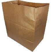 250 Sacos Kraft Delivery Grande Fast Food Entregas 30x31x19