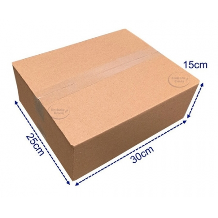 15 Caixas De Papelão Pequenas Sedex Pac Envios 30x25x15