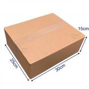 50 Caixas De Papelão Pequenas Sedex Pac Envios 30x25x15