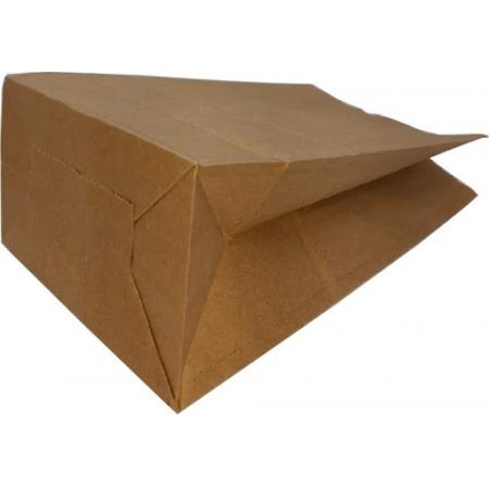 50 Sacos Kraft Delivery Pequeno Entregas Lanches 18x28x11