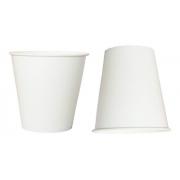 600 Copos De Papel Para Chá Café 100 Ml Branco Biodegradável