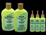 Gota Dourada Shampoo E Condicionador Queratrix + 3 Tônicos