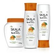 - Kit Skala Tangerina E Gengibre Condicionador+ Shampoo+creme