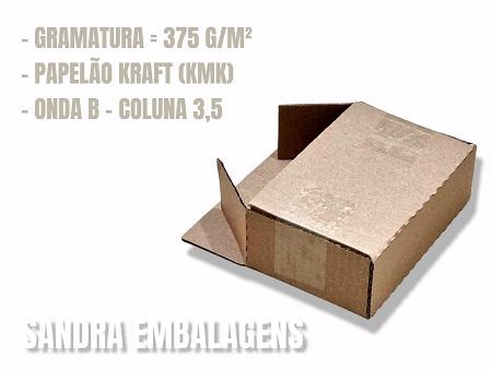 200 Caixas De Papelao 16x11x6 Correio Mercado Envios Sedex