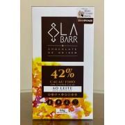 LaBarr Chocolate - 42% Ao leite - 80g