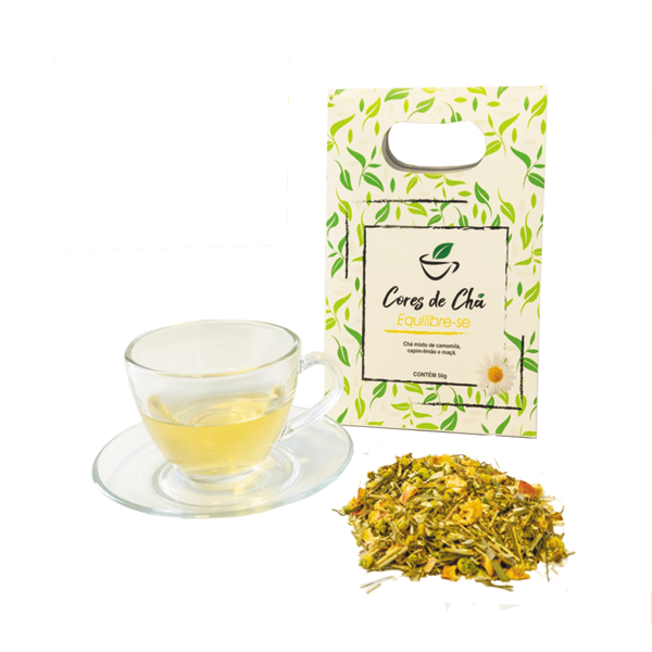 Cores de Chá - Chá Equilibre-se 50g