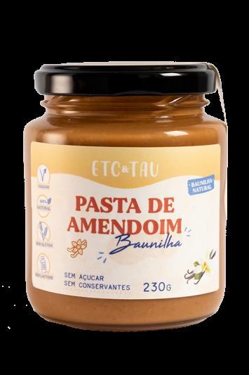 Etc & Tau - Pasta de Amendoim com Baunilha 230g