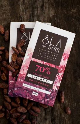LaBarr Chocolate - 70% Intenso  - 80g