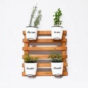 Horta Vertical Embuia Seleção - Branco