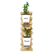 Horta Vertical Natural Seleção - Branco