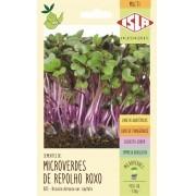 Semente de Microverde Repolho Roxo