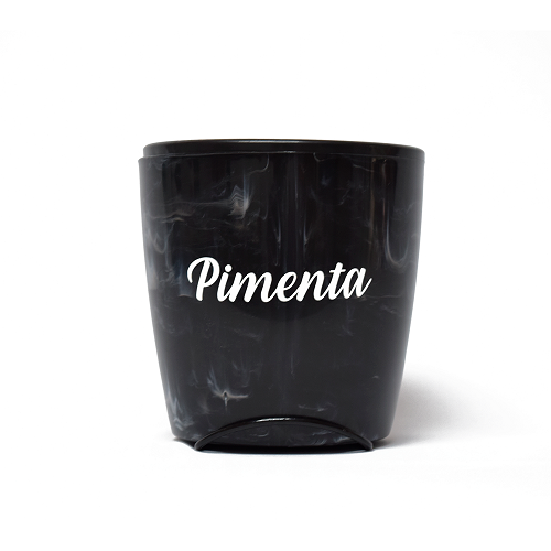 Vaso Auto Irrigável Seleção Preto - Pimenta