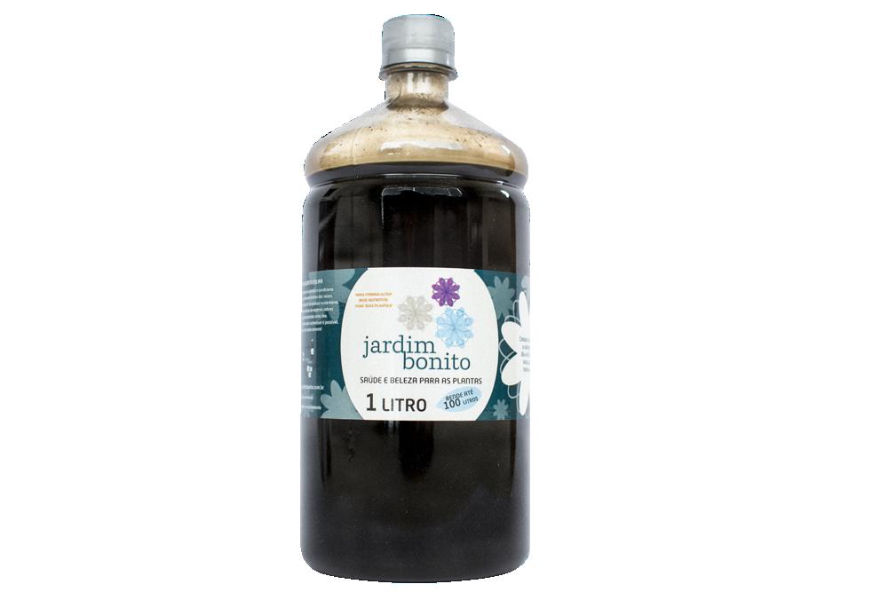 Fertilizante Orgânico Liquido - Jardim Bonito de 1 Litro