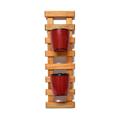 Horta Vertical Embuia - Vermelho Vinho