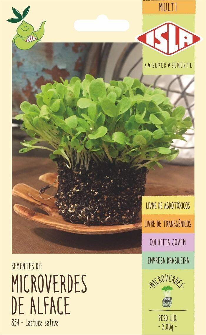 Semente de Microverde Alface