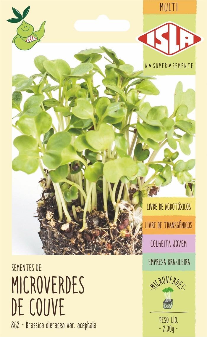 Semente de Microverde Couve